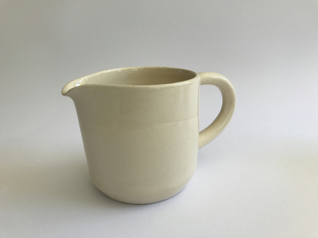 Hand-thrown Cream Jug