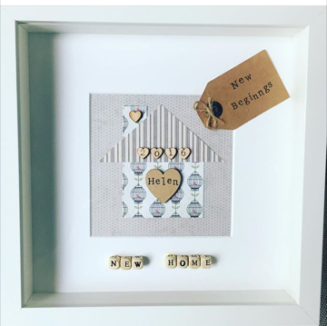 Handcrafted and personalised scrabble framed gifts I home decor