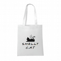 Friends inspired- Smelly Cat- funny- Tote bag