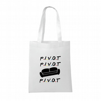 Friends inspired- Pivot- Sofa - funny- Tote bag