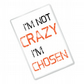 I'm Not Crazy I'm Chosen - OITNB Inspired - Fridge Magnet
