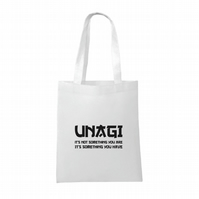 Friends inspired- Unagi- It's Not Something You Are- funny- Tote bag