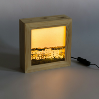 'So Clifton', Wooden Lightbox Showcasing Clifton Houses