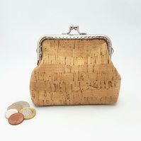 CORK Coin Purse in Natural Cork.