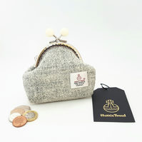 Grey HARRIS TWEED Coin purse