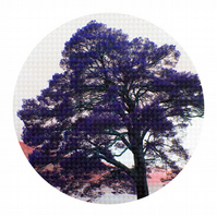 WOVEN OAK, Circular Tree Limited Edition Print - Gift for a Special Occasion