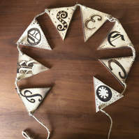 Wooden Bunting - Prosecco