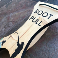 Boot Pull - Fishing Themed