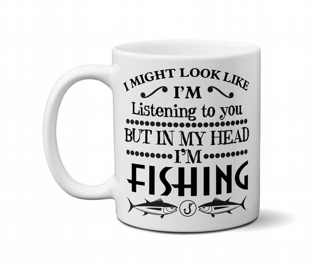 Fishing Mug Funny Gifts For Fishermen Dad