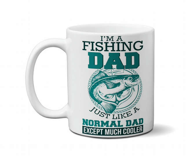 Fishing Mug Funny Gift Idea For Fisherman