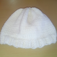 Handmade Knitted baby hat in Various Colours