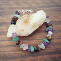 Chakra Gemstone Anxiety Relief Mental Health Bracelet
