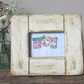 Free Motion Embroidery Framed House - Distressed Chunky Frame