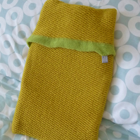 Yellow Colour Pop Hot Water bottle Cover