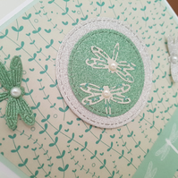 Dragonfly- Blank greeting card