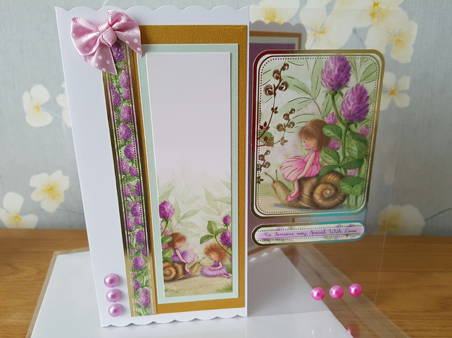 To someone very special, with love - handmade greeting card