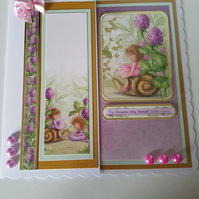 To someone very special with love - Handmade greeting card