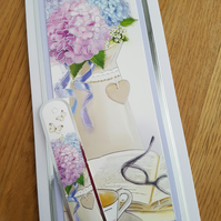 Blank handmade card - mothers day, birthday, just because......