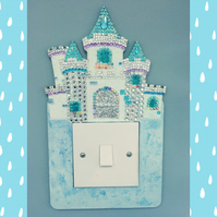 Inspired by Elsa! Light Switch Surround