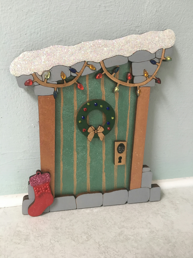 Christmas Elf door