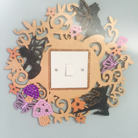 Fairy garden light Switch Surround