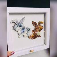 Personalised pets created with sparkle