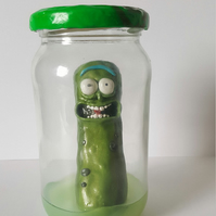 Rick and Morty Pickle Rick Jar