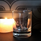 Scottish landscape tea light candle holder or whisky glass