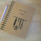 Personalised A5 recipe book NB3