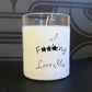 Valentines funny explicit scented candle gift