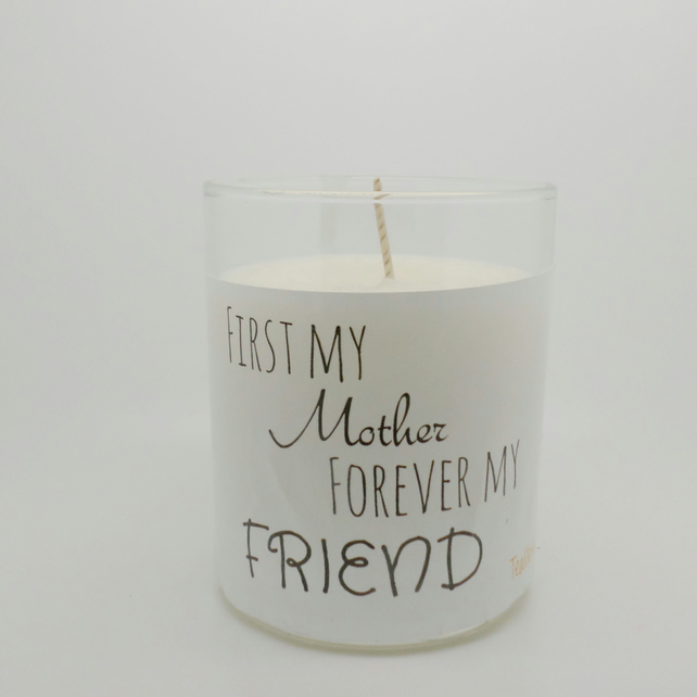 Scented mothers day soy wax candle LJC3