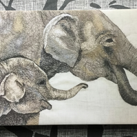 Limited Edition Canvas Print - Elephants