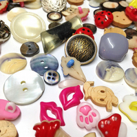4000p mix Buttons Sewing Knitting Coconut Shell Plastic Flat Shank Colour craft