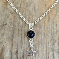 Onyx Gemstone Necklace