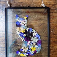 Made to Order: Pressed Flower Cat