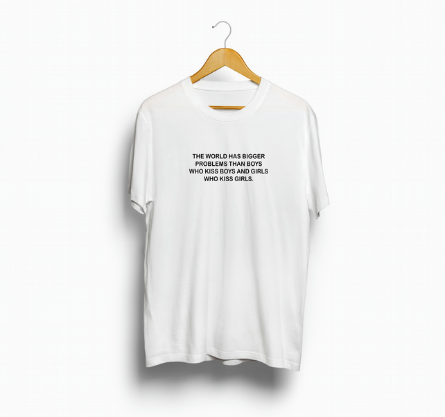 The World Has Bigger Problems Pride T shirt Equality LBGT