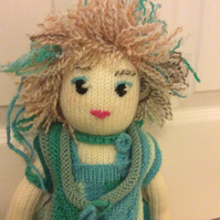 Beautiful Knitted Woodland Fairy Doll