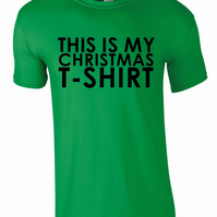 This Is My Xmas Tee, Mens Tee T-Shirt
