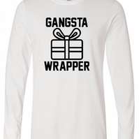 Gangster Wrapper Mens Long Sleeve Tee