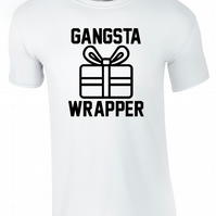 Gangster Wrapper, Mens Tee T-Shirt