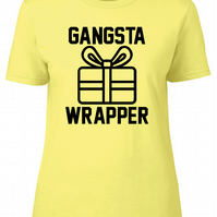 Gangster Wrapper, Womens Fitted Tee T-Shirt