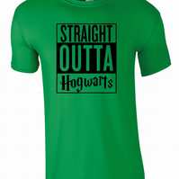 Straight Outta Hogwarts, Mens Tee T-Shirt