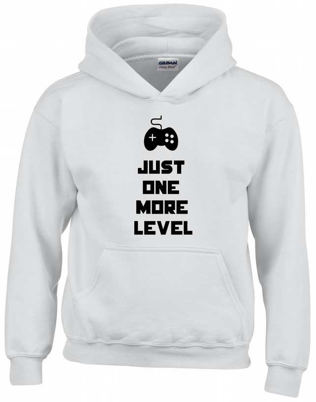 Just One More Level Kids Hoodie