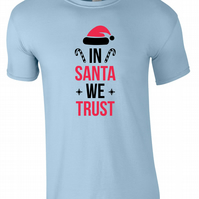 In Santa We Trust Kids Tee T-Shirt