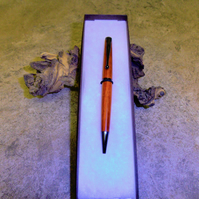 112 Ballpoint Pen made from Padauk