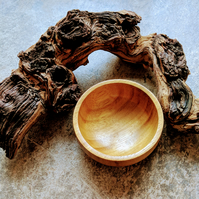 825 Wooden Bowl made from Iroko