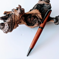 Ballpoint Pen made from Bubinga  114