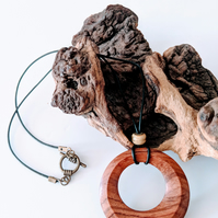 Pendant made from Bubinga 603