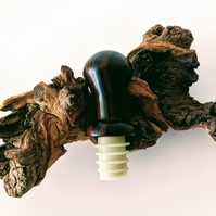 859 Wooden Wine Bottle Stopper made from Rosewood