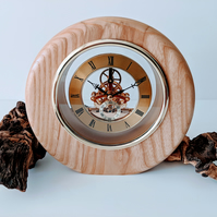 Ash Skeleton Clock  871